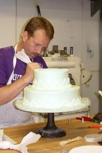Bernie Making a Cake